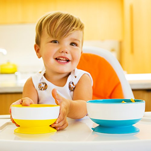 Munchkin Stay-Put Suction Bowls Trio Pack