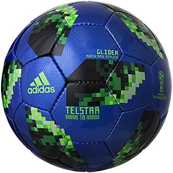 adidas(アディダス) サッカーボール 4号球(小学生用) 2018年 FIFAワールドカップ 試合球 JFA検定球 テルスター18 グライダー AF4304BG 青