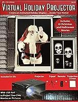 Virtual Holiday Projector - 8 Christmas and Halloween Movies [並行輸入品]