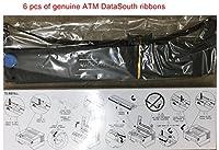 6純正OEM ATM DataSouth Documax c6303ドットマトリックスプリンタブラック印刷インクリボンカートリッジ(データSouthパーツ# : aab-104443またはaab104443)