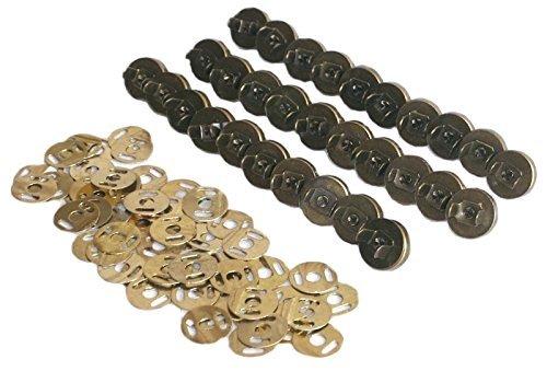 マグネットボタン マグネットホック 14mm 30セット アンティークゴールド 古銅ハンドメイド 手芸