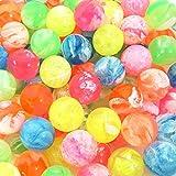 スーパーボール 22mm マーブル スーパーボール ( 100個入) すくい 景品 縁日 お祭り 夏祭り