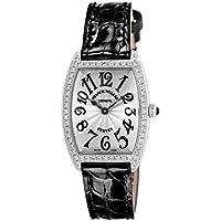 [フランクミュラー]FRANCK MULLER 腕時計 トノウカーベックス ブラック文字盤 ダイヤモンド 1752QZDP SLV BLK EN レディース 【並行輸入品】