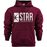 fresh tees Star Laboratories S.T.A.R. Labs Hooded Sweatshirt
