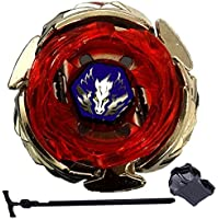 JJQ-TOYS Beyblade Beyblades High Performance Master Wing Pegasis/Pegasus 90WF 4D System + Luncher BB-121A