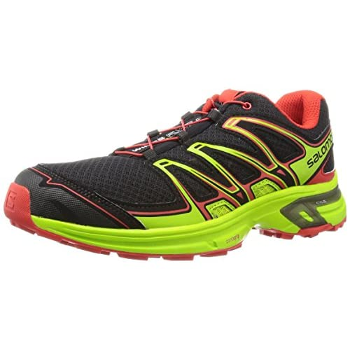 [サロモン] SALOMON トレイルランニングシューズ WINGS FLYTE 2 L37916500 BLACK / GRANNY GREEN / RADIANT RED (BLACK / GRANNY GREEN / RADIANT RED/25.5)