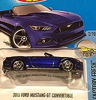 HOT WHEELS ホットウィール 2015 フォード マスタング GT コンバーチブル 2017 #104