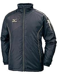 ミズノ MC ブレス中綿ウォーマーシャツ ブラック×ブラック 32JE753009 XS