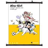 MovieWallscrolls Aho Girl Anime Artファブリック壁スクロールポスター( 16x 23)インチ[ A ] Aho girl-13