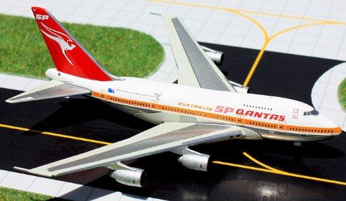 1: 400 ジェミニジェット Qantas ボーイング 747SP Old Colors, Brisbane Commonwealth Games (並行輸入)