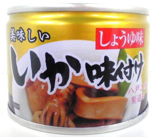 伊藤食品 美味しいいか味付け 135g×4缶