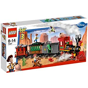 レゴ (LEGO) トイ・ストーリー ウェスタン・トレインの追跡 7597