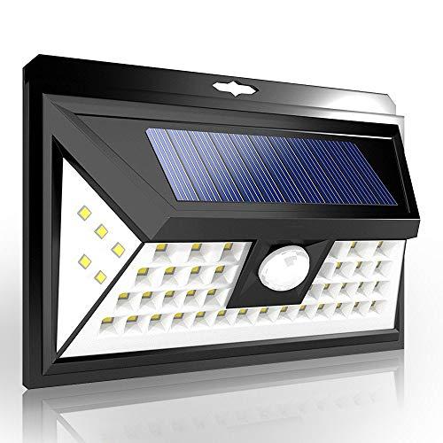 センサーライト GOKU ソーラーライト 48LED人感センサー 屋外照明 防犯LEDライト 三つ点灯モードIP65防水 2...