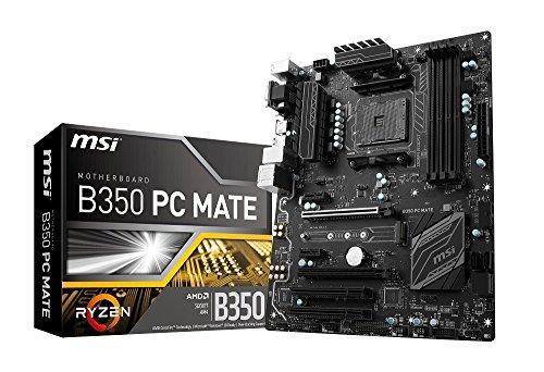 MSI B350 PC MATE ATXマザーボード [AMD RYZEN対応 socket AM4] MB3912