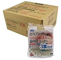 JA福井県経済連 北アルプスの天然水仕立てふんわりごはん 福井県産こしひかり