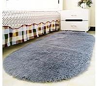 GYP 肥厚オーバルカーペットホームリビングルームコーヒーテーブルベッドルームカーペット部屋のベッドサイドカーペットベッドブランケット ( 色 : D , サイズ さいず : 65*160CM )