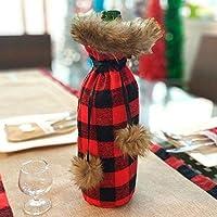 Christmas 2020 新年最新サンタクロース雪だるまワインボトルのダストカバーノエルクリスマスの装飾ホームディナーの装飾クリスマスギフト