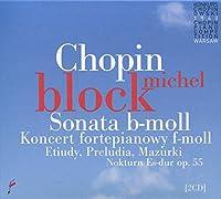 ピアノ協奏曲第2番、英雄ポロネーズ、ピアノ・ソナタ第2番、他 ミシェル・ブロック(1960年第6回ショパン国際ピアノ・コンクール・ライヴ)(2CD)