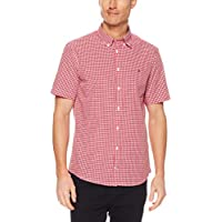 TOMMY HILFIGER Men's Gingham Check Poplin Shirt