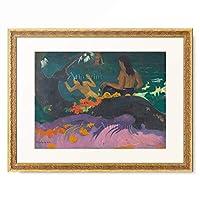 ポール・ゴーギャン Eugene Henri Paul Gauguin 「By the Sea (Fatata te Miti) 1892」 額装アート作品
