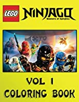 LEGO NINJAGO Coloring Book: Activity Book for Kids and Adults - 40 coloring pages (Volume 1)