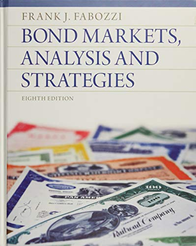 Download Bond Markets, Analysis and Strategies 013274354X