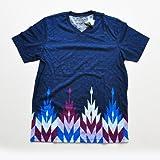 AMERICAN RAG CIE/アメリカンラグシー VネックボーダーグラフィックTシャツ (XL) [並行輸入品]