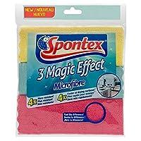 [Spontex] Spontexマジックマイクロファイバークロス3パック - Spontex Magic Microfibre Cloths 3 Pack [並行輸入品]