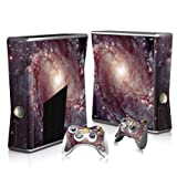 Linyuan 安定した品質 T2123* Skin Decal Wrap Sticker for Microsof XBOX360 SLIM Console+2 Controllers