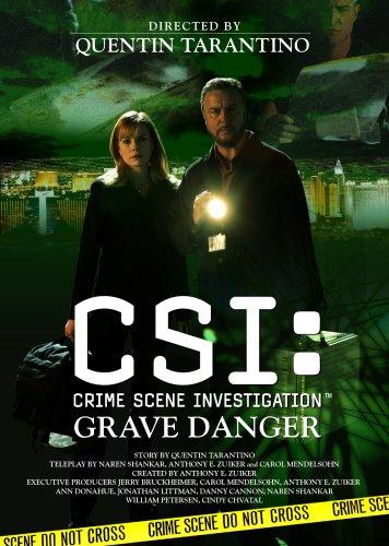 CSI:科学捜査班 クエンティン・タランティーノ監督 グレイブ・デンジャー (初回限定生産) [DVD]の詳細を見る