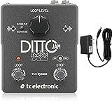 tc electronic ルーパーペダル 自動テンポ検知機能 無制限のオーバーダブ 独立したSTOP用フットスイッチ DITTO JAM X2 LOOPER