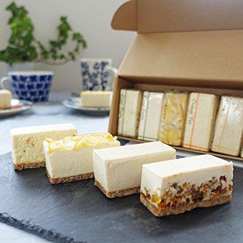 白砂糖不使用チーズケーキ お試し4種食べ比べセット 6個入り 夏フレーバー