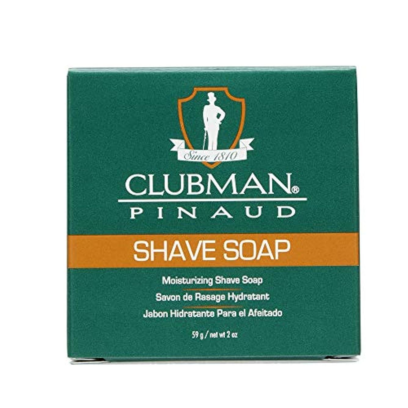 競争無駄だ刺繍CLUBMAN Shave Soap (並行輸入品)