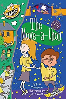 The Move-a-thon (Plunkett Street Book 1) by [Thompson, Lisa, Eggs, Reading]