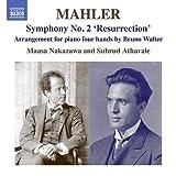 マーラー:交響曲 第2番「復活」(B.ワルターによるピアノ4手版) 画像
