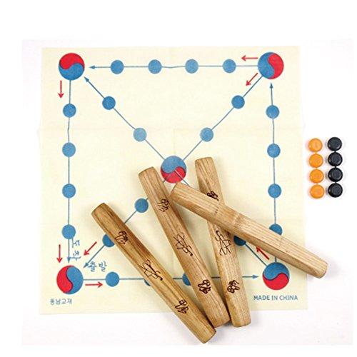 Korean TraditionalボードゲームYUT Nori Yutゲーム、新しい年の日