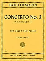ゴルターマン : チェロ協奏曲 第3番 ロ短調 Op.51/インターナショナル・ミュージック社/ピアノ伴奏付ソロ楽譜