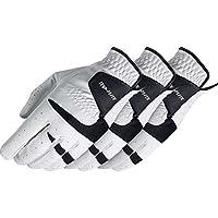 Top FliteメンズDigitechゴルフグローブ–Left Hand–Cadet–3パック L ホワイト