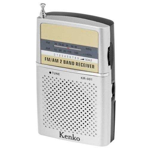 Kenko AM/FMポケットラジオ KR-001