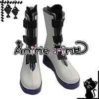 ●●サイズ選択可●●女性22CM MJS1162 コスプレ靴 ブーツ PandoraHearts パンドラハーツ ザークシーズ=ブレイク