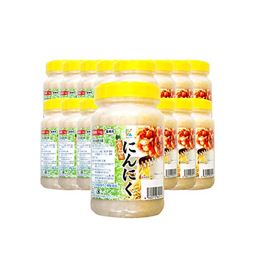 九州ファーム みじん切りにんにく(有塩)1kg ×15個