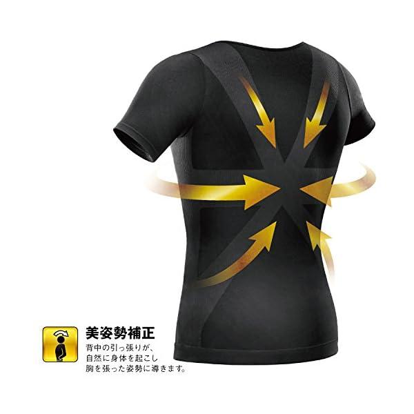 La-VIE(ラヴィ) 加圧インナーシャツ す...の紹介画像4