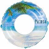 ドウシシャ 浮き輪 ビーチ 120cm
