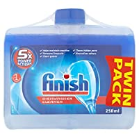 Finish Dishwasher Cleaner Dual Action Twin Pack (2 x 250ml)