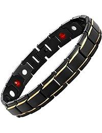 ゲルマニウム ブレスレット メンズ  純チタン製磁気 サイズ 調整工具付属