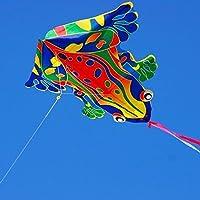 X-Kite Mini Nylon Kite w String; FROG: 50cm Wingspan
