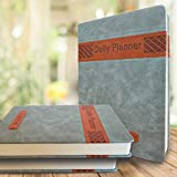 ALSAVCHE Daily Planner, Organizer, Journal, Diary, 432 Pages Undated Daily, Monthly, Yearly Motivational Notebook, Appointmen