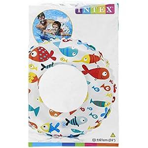 INTEX(インテックス) 浮き輪 ライブリープリントスイムリング 61cm 59241 【柄指定不可】 [日本正規品]