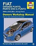 ヘインズ整備マニュアル「フィアット グランデプント (2006〜2015年モデル」