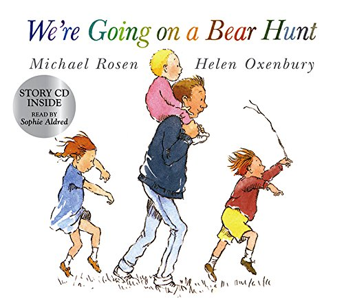 We're Going on a Bear Hunt (Book & CD)の詳細を見る